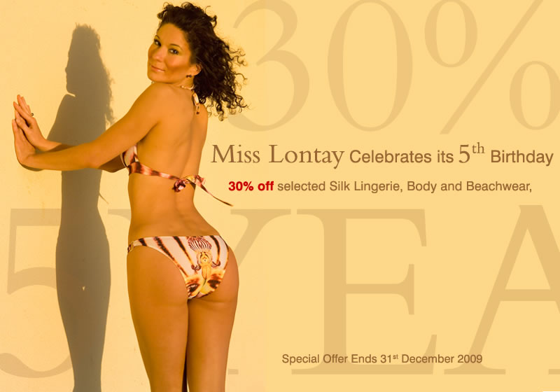 Miss Lontay Celebrates its 5th Birthday, offering all its customers 30 ...